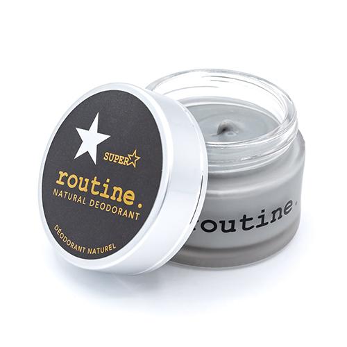 Les 15 meilleurs déodorants naturels: Superstar par Routine Cream