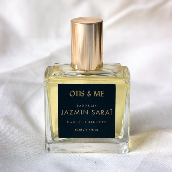 Parfum non-toxique de la marque montréalaise Jazmin Saraï