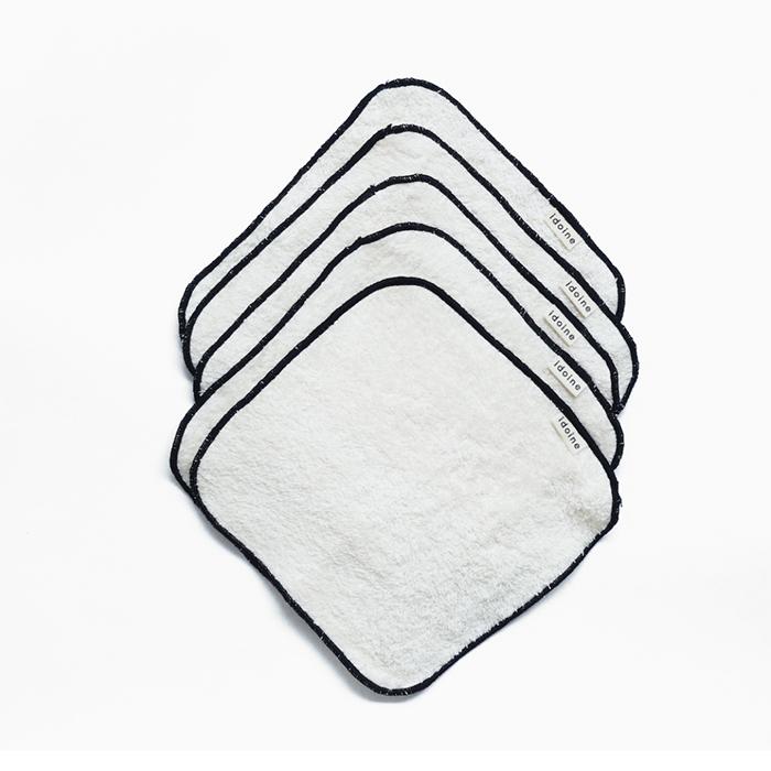 Lingettes lavables pour le visage de Idoine