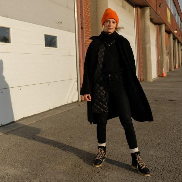 Look d'inspiration pour avoir du style en hiver tout en restant au chaud.