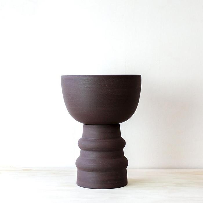 Pot à plante en deux parties par Josie Daisy