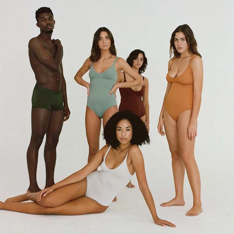 Sous-vêtements en coton biologique de la marque espagnole Nude.