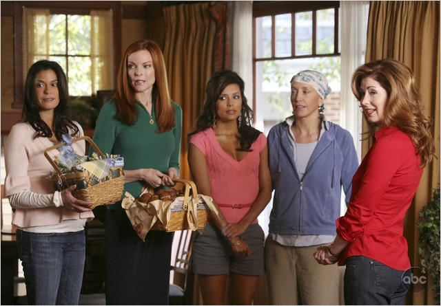 Desperate Housewives : Photo Dana Delany, Eva Longoria, Felicity Huffman, Marcia Cross, Teri Hatcher