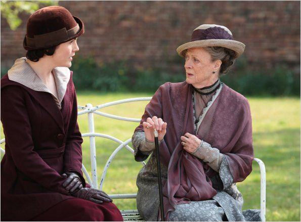 Photo Maggie Smith, Michelle Dockery