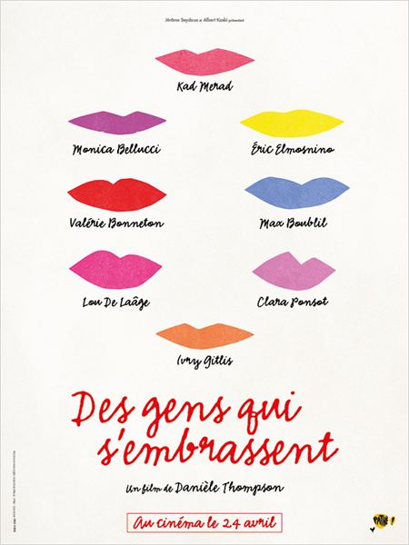 """Des gens qui s'embrassent"""
