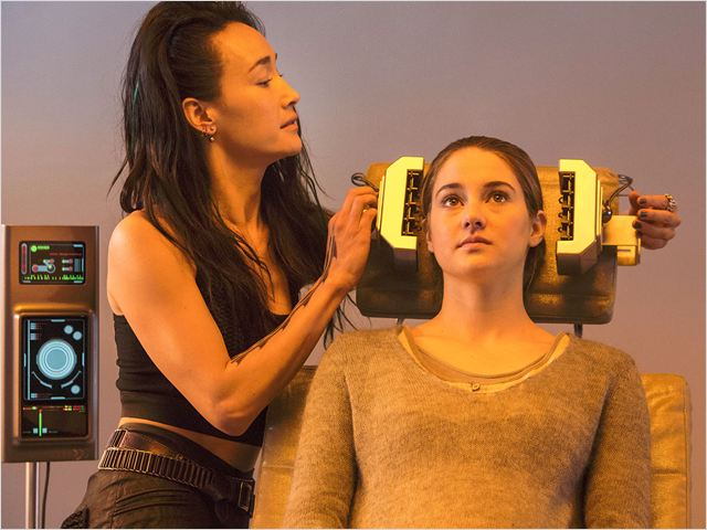 Divergente : Photo Maggie Q, Shailene Woodley
