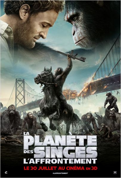La Planète des singes : l'affrontement : Affiche