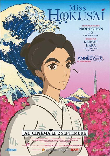 Miss Hokusai : Affiche