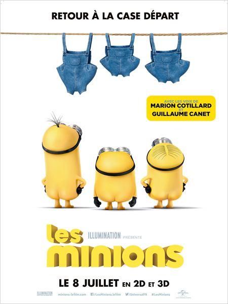 Les Minions : Affiche