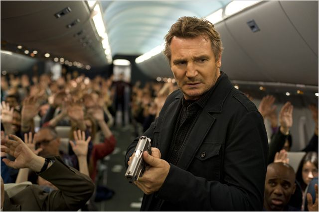 Non-Stop : Photo Liam Neeson