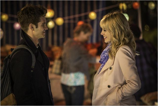 The Amazing Spider-Man : le destin d'un Héros : Photo Andrew Garfield, Emma Stone