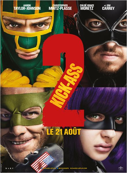 Telecharger Kick-Ass 2 DVDRip French