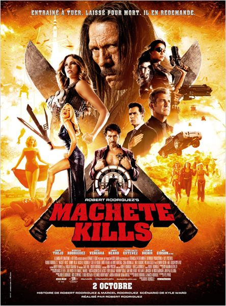 Machete Kills : Affiche