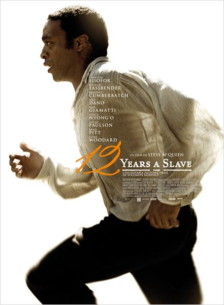 Affiche - 12 years a slave