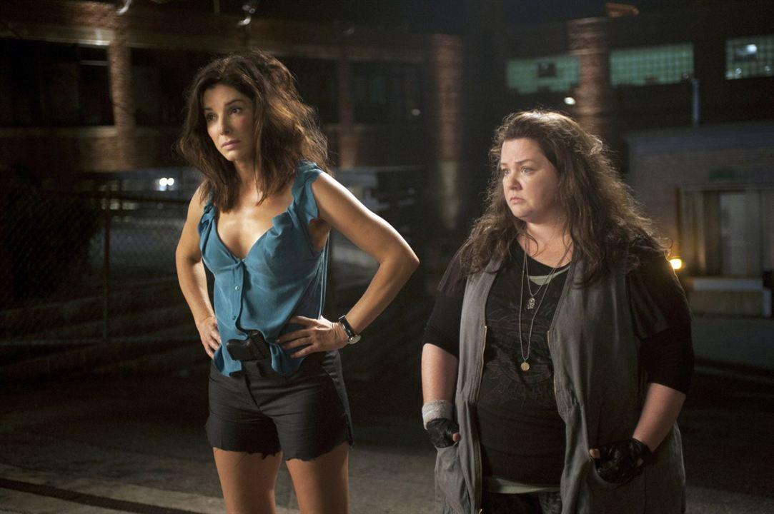 Les Flingueuses : Photo Melissa McCarthy, Sandra Bullock