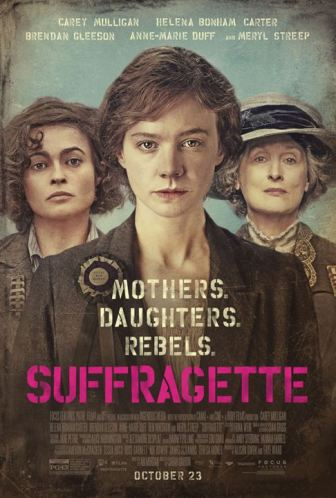 Les Suffragettes : Affiche