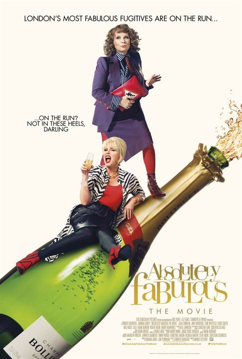 Absolutely Fabulous: The Movie : Affiche