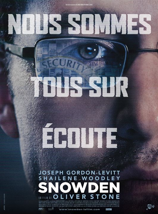 Snowden : Affiche
