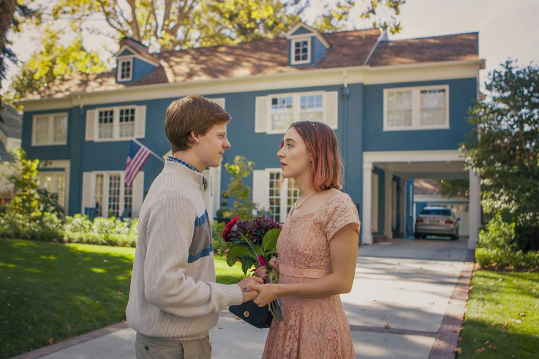 Lady Bird : Photo Lucas Hedges, Saoirse Ronan