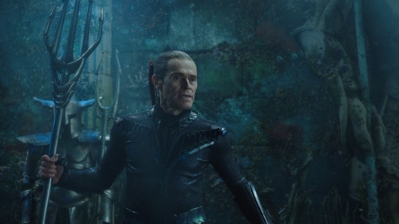 Aquaman : Photo Willem Dafoe