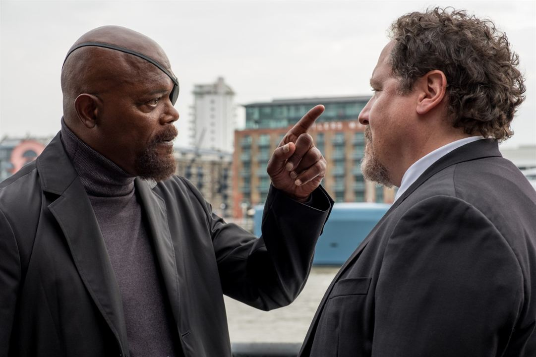 Spider-Man: Far From Home : Photo Jon Favreau, Samuel L. Jackson