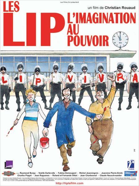Les LIP, l'imagination au pouvoir : affiche Christian Rouaud