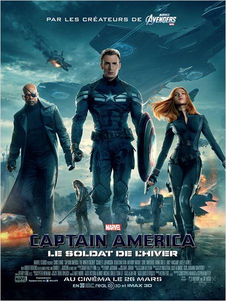 Captain America, le soldat de l'hiver : Affiche