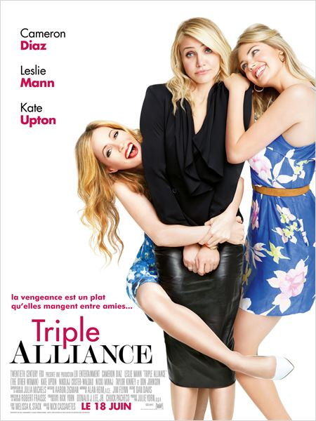 Triple alliance : Affiche