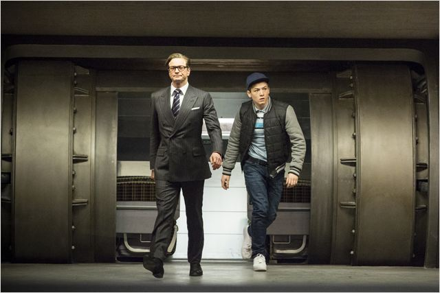Kingsman : Services secrets : Photo Colin Firth, Taron Egerton