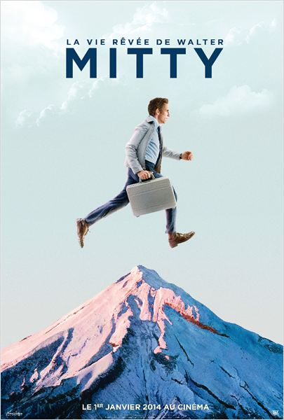 La Vie rêvée de Walter Mitty : Affiche