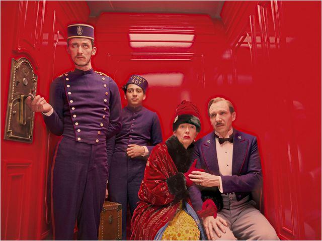 The Grand Budapest Hotel : Photo Paul Schlase, Ralph Fiennes, Tilda Swinton, Tony Revolori