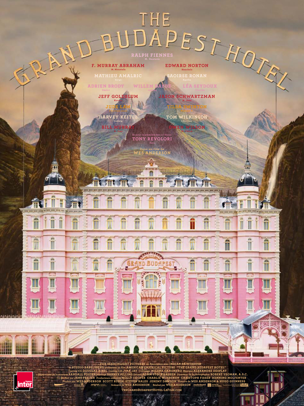 """Résultat de recherche d'images pour """"the grand budapest hotel"""""""