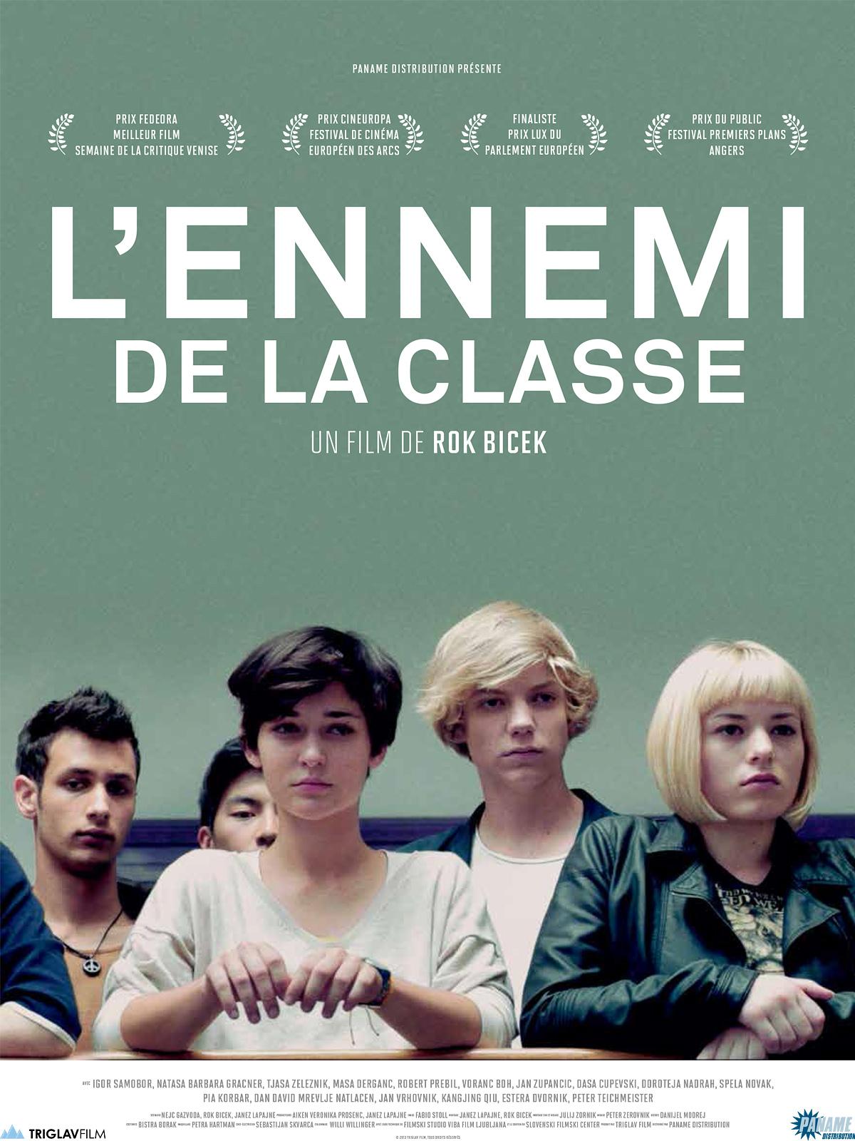 Affiche Film L'ennemi de la classe