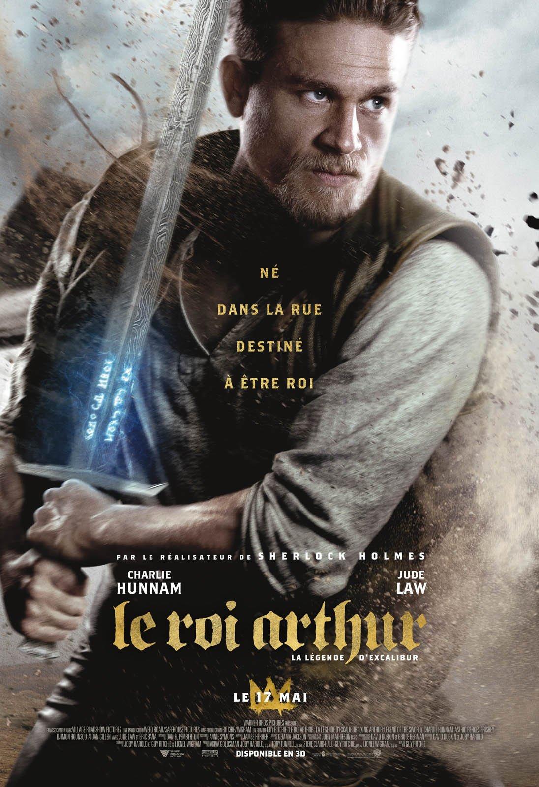"""Résultat de recherche d'images pour """"le roi arthur la légende d'excalibur affiche"""""""