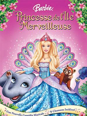 Affiche du film Barbie, Princesse de l'Île Merveilleuse ...