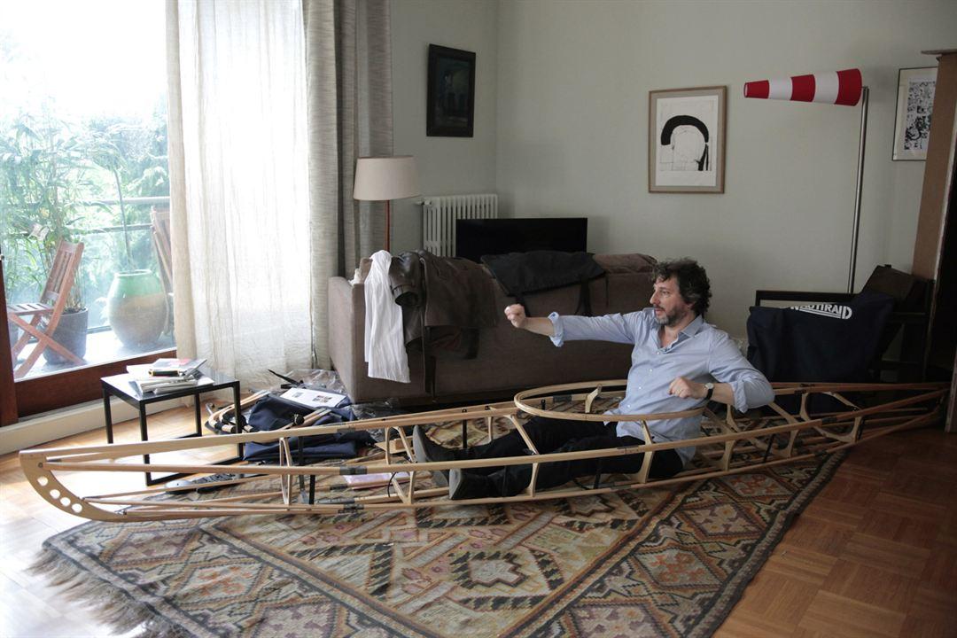 Comme un avion : Photo Bruno Podalydès