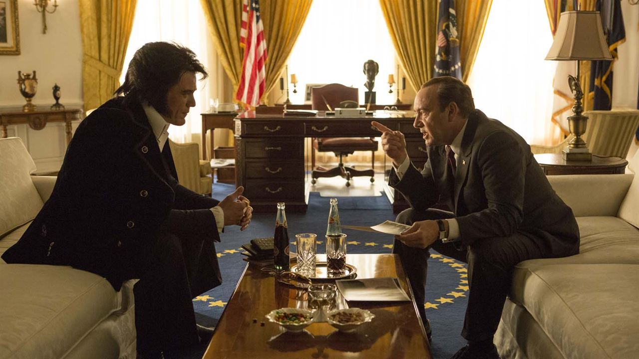 Elvis & Nixon : Photo Kevin Spacey, Michael Shannon