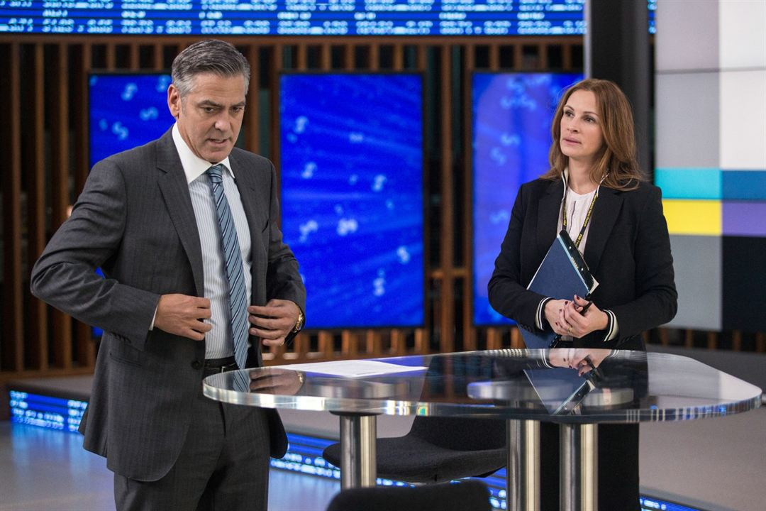 Money Monster : Photo George Clooney, Julia Roberts