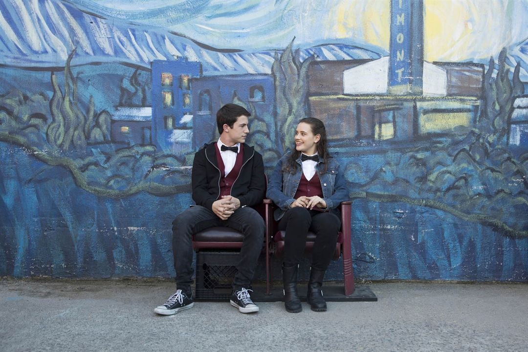 Photo Dylan Minnette, Katherine Langford