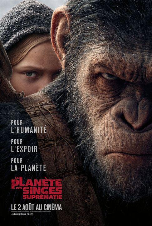 La Planète des Singes - Suprématie : Affiche