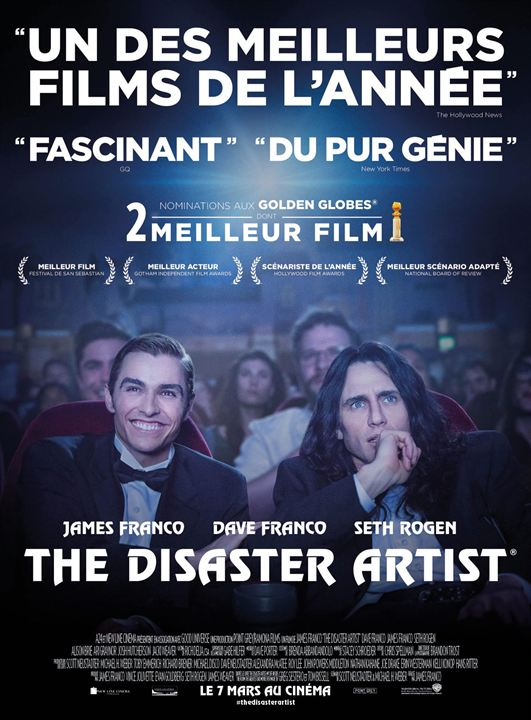 The Disaster Artist : Affiche