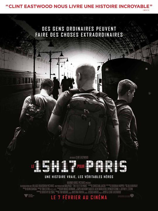 Le 15h17 pour Paris : Affiche