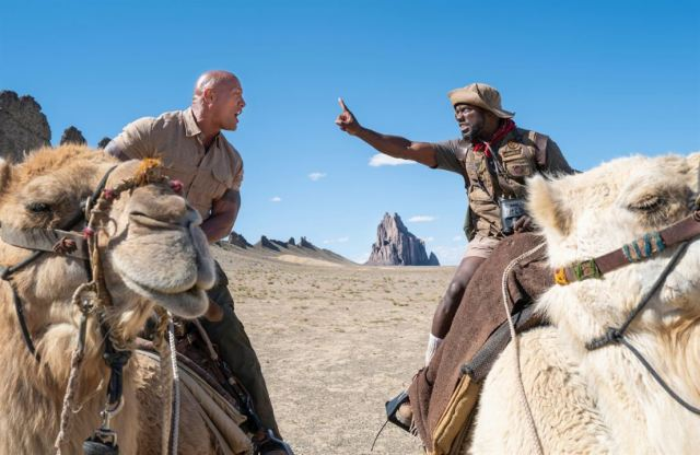 Jumanji: next level : Photo Dwayne Johnson, Kevin Hart