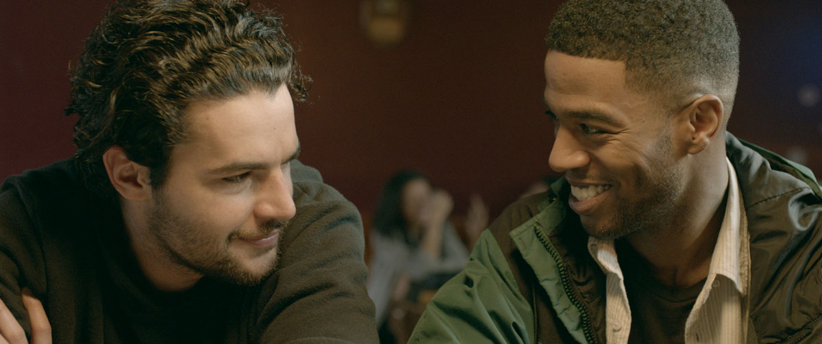 James White (Christopher Abbott) et Nick (Scott Mescudi)