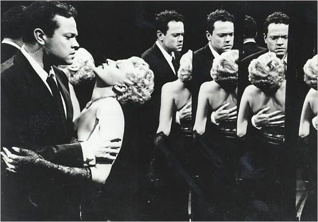 La Dame de Shanghai : Photo Orson Welles, Rita Hayworth