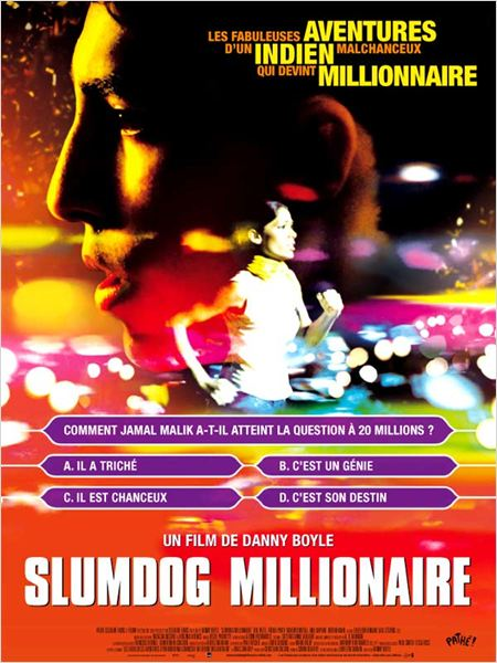 Slumdog Millionaire : affiche Danny Boyle
