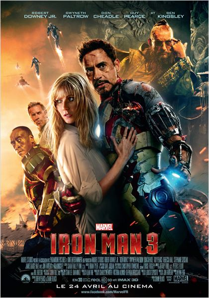 Telecharger Iron Man 3 DVDRip French