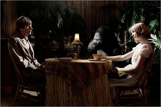 The Double : Photo Jesse Eisenberg, Mia Wasikowska