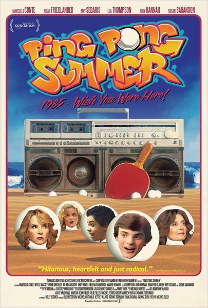 Ping Pong Summer : Affiche