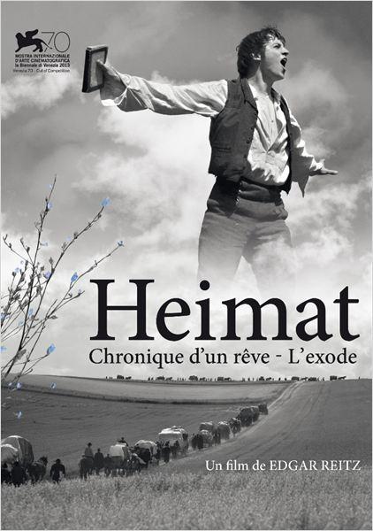 HEIMAT II – L'exode : Affiche